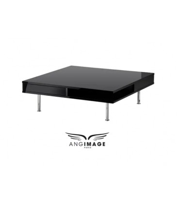 Black low table